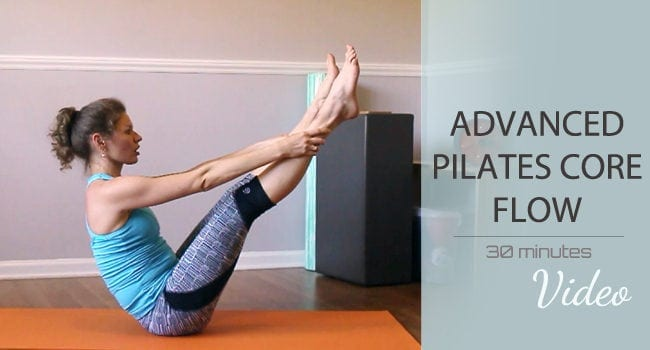 Pilates Core Flow – Intermediate/Advanced Level