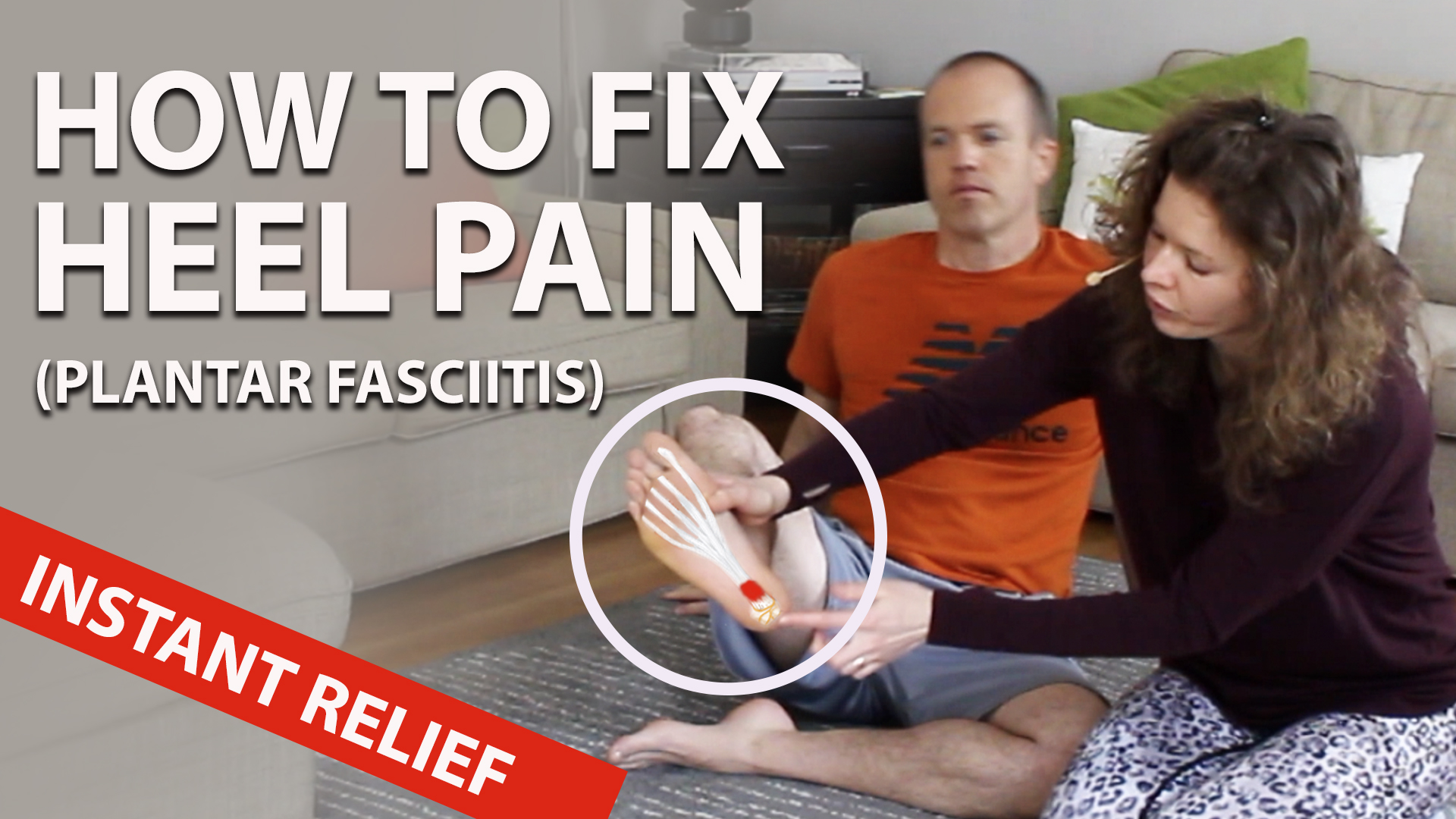 Plantar Fasciitis: Exercises to Cure Heel Pain